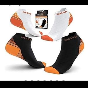 Compression Running Socks(2 Pairs)(S/M)
